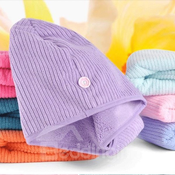 A Class High Combed Yarn Hair Quick-Drying Towel Cap