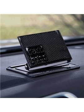 Rotatable and Portable Slip Resistance Gum Car Phone Holder