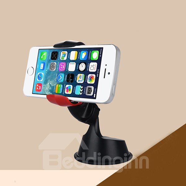 Removable Sucked Environmental ABS Plastic Car Phone Holder