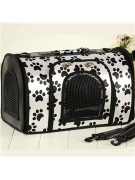 High Classic Oxford Coating Cloth Portable Dog Carriers