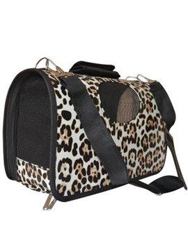 Amazing Snow Leopard Decorative Pattern Portable Dog Carriers
