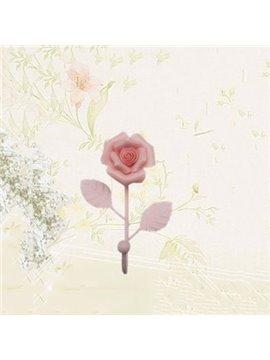 Fantastic Pretty 1-Piece Rose Flower Wall Hook