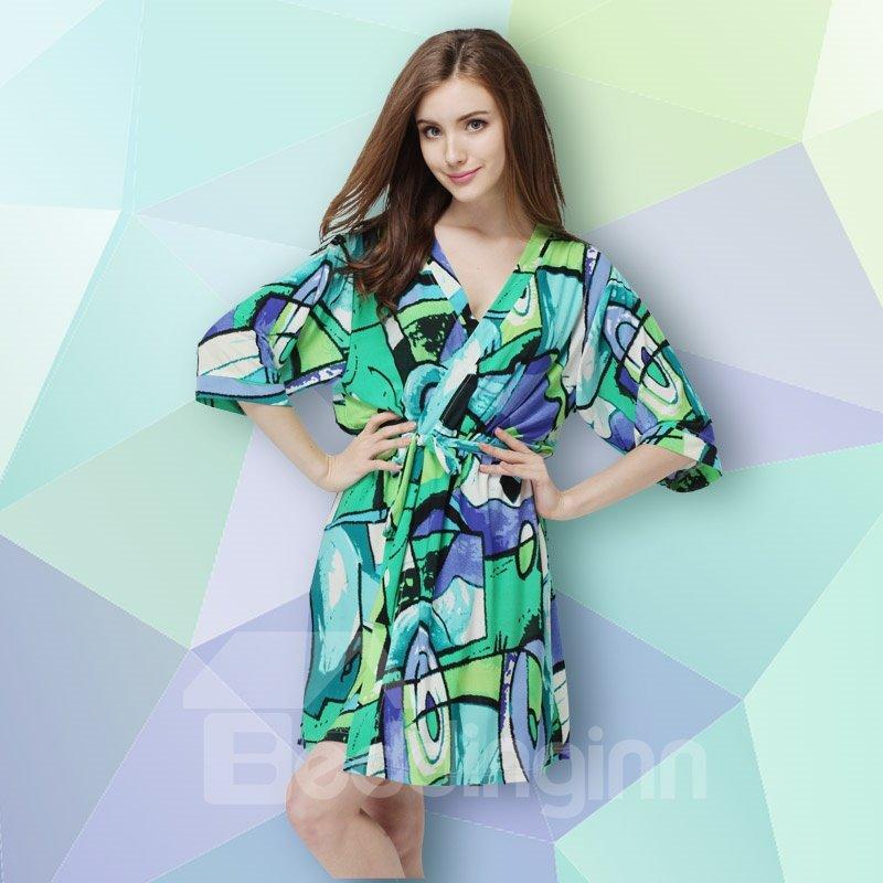 New Style Summer Modal  Meryl Women's Bathrobe