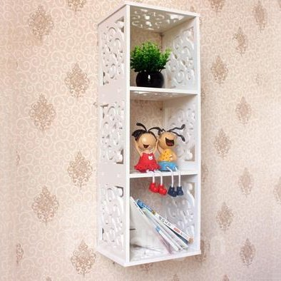 Top Selling Classic Carved Lattice Wall Shelves
