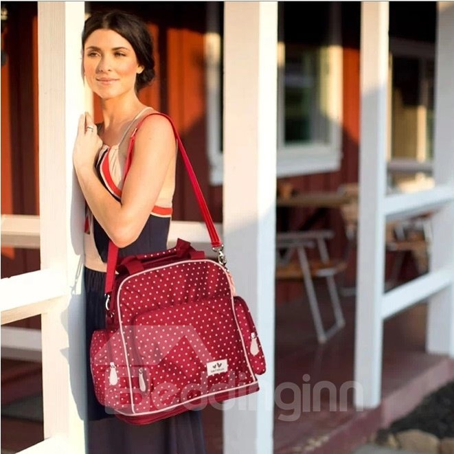 Super Chic Polka Dot Diaper Bag