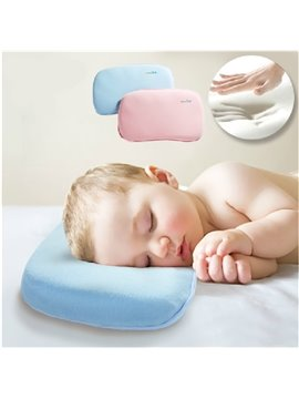 ​Natural Bamboo Charcoal Memory Foam Prevent Flat Head Baby Pillow