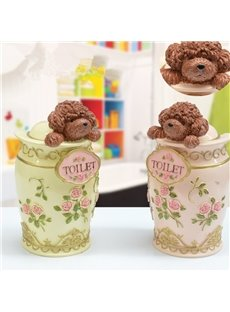 New Style Cute Winnie Toilet Brush  Holder