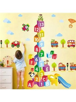 Popular Creative Measurement of Height Wall Stickers
