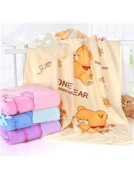 Superfine Fiber Thicken Water Absorption Kids Bath Towel