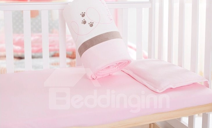 Super Soft and Gentle Cotton Baby Crib Fitted Sheet