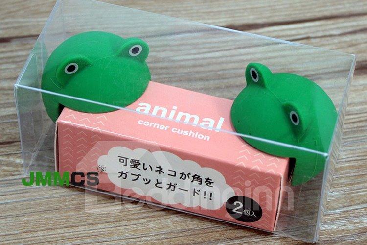 Creative Frog Shape Baby Edge Corner Guard Cushions
