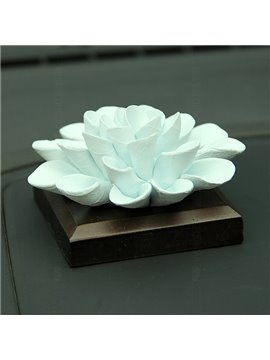 Exquisite Handmade Ceramic Ocean Flowers Car Fragrance Base