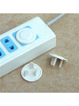 White ABS Material Baby Safety Socket Protector Covers