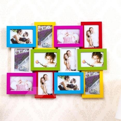 Fantastic Density Board 12-Piece Wall Photo Frame Set