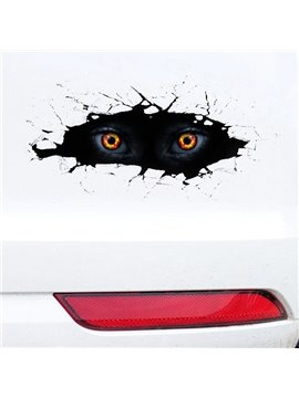 Magic 3D Fire Eyes Most Popular Creative Car Sticeker