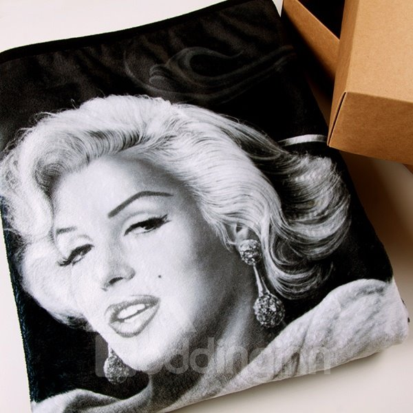 The Sexy Marilyn Monroe in Stage Blanket