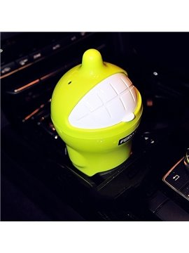 Small Funny and Interesting Laughing Pattern Car Trash Can
