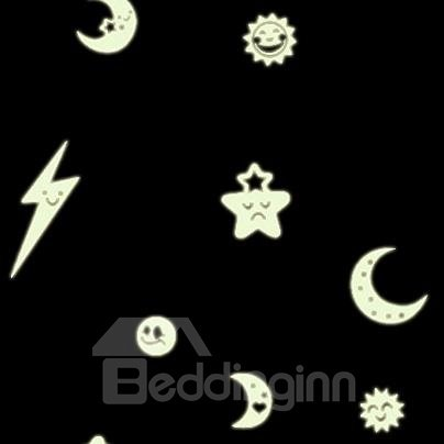 Amazing Lightning 2-Piece Luminous Wall Stickers