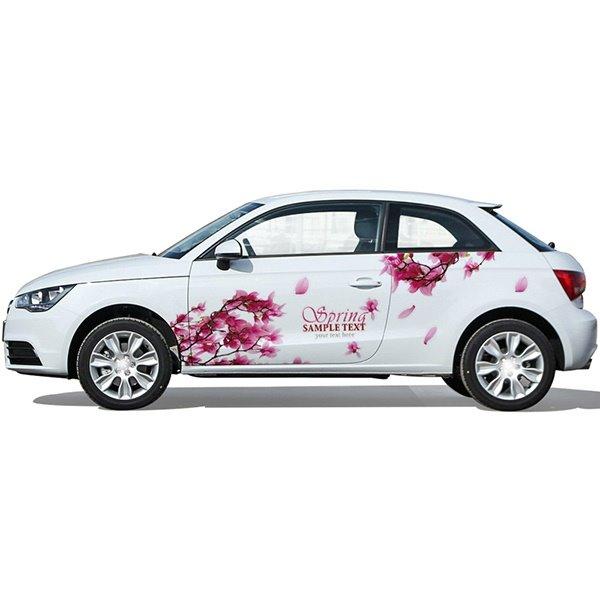 The Romantic Sakura PVC Car Stickers