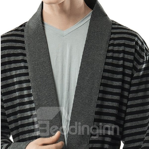 Knitted Cotton  Loose  Men