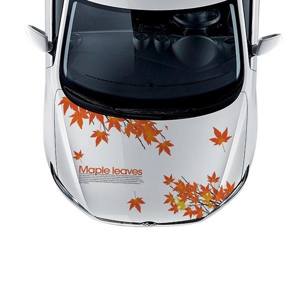 Beautiful Maple Leaves PVC Car Sticker