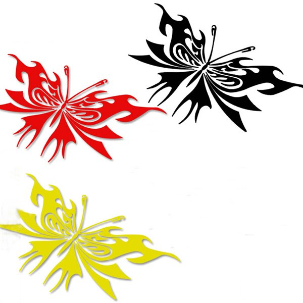 Vivid Butterfly Easy Installation Car Sticker