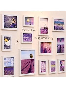 Cheap Fantastic Wall Photo Frame Set with Wall Stickers