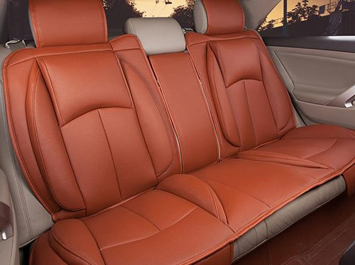 Luxurious And Comfort 3D Design PU Leatherette Material Universal Five Car Seat Covers