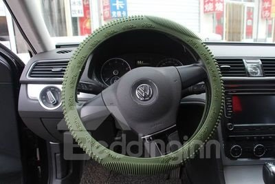 Slip Resistance Silica Gel Steering Wheel Cover