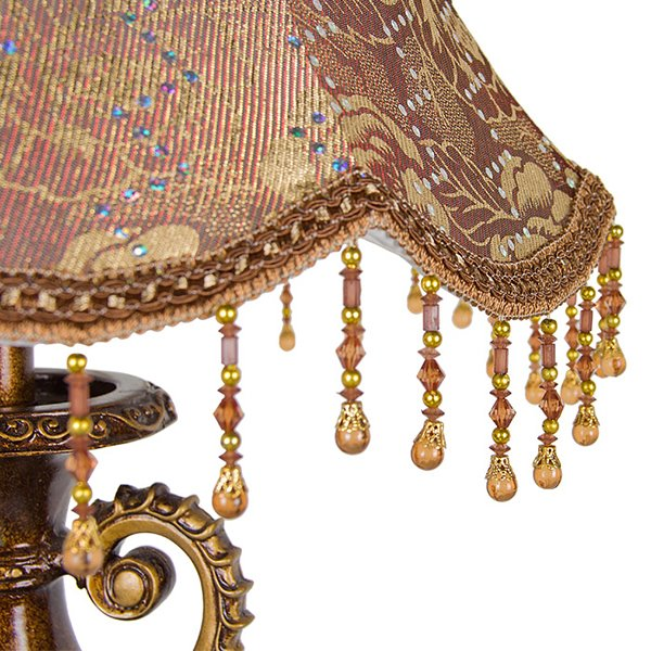 Simple Fashion European Fabric Resin lamp