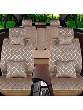 Simple Business Design Elegant Ice Silk Universal Car Seat Covers