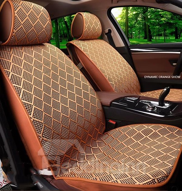 Simple but Elegant Ice Silk Car Seat Covers