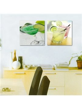 Wonderful Summer Cold Drink 2-Piece Crystal Film Art Wall Print