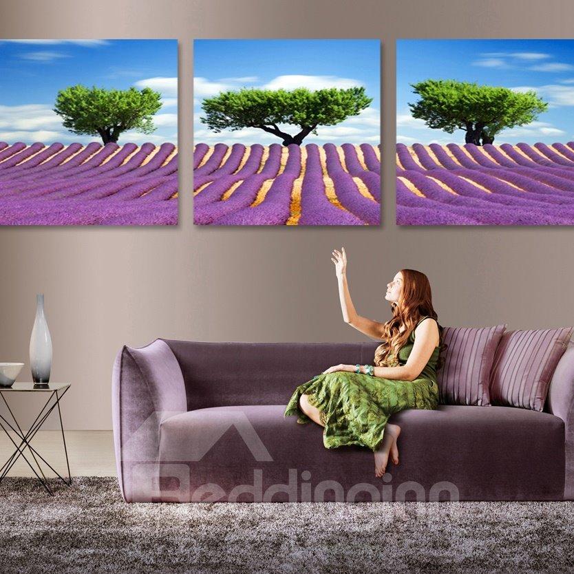 Amazing Tree of Life 3-Piece Crystal Film Art Wall Print