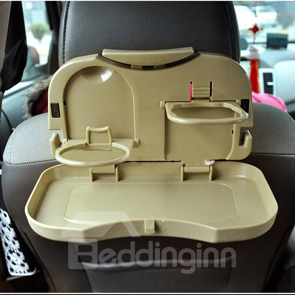 Easy Install Necessary Folding ABS Plastic Material Car Backseat Organizer