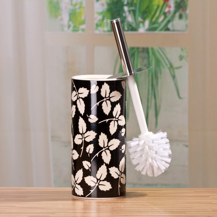 The Vase Type Suit Black And White Decorative Pattern