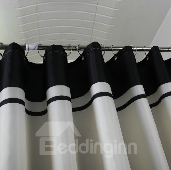 Polyester Fabrics Waterproof Thicken Shower Curtains
