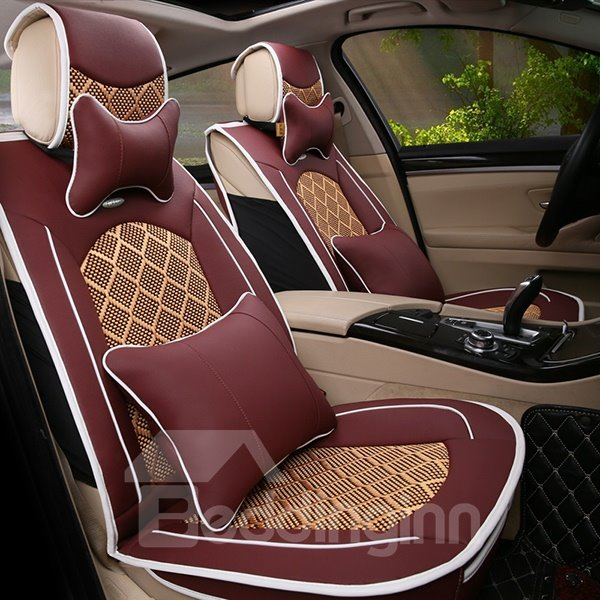 Elegant and Luxurious Compound Material Car Seat Covers
