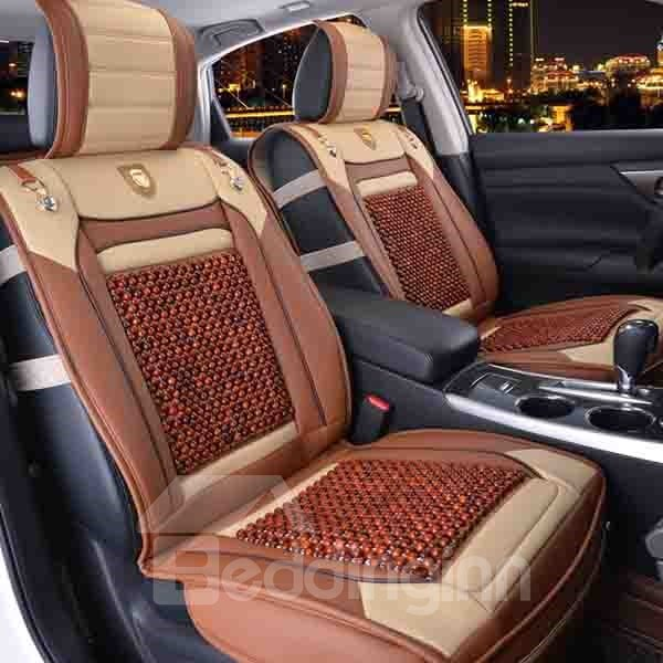 Wooden Beads Health Care Ventilated Car Seat Covers - beddinginn.com