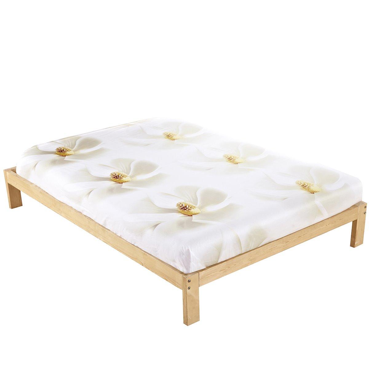 White Flower All Cotton Skin Care Cotton Sheet