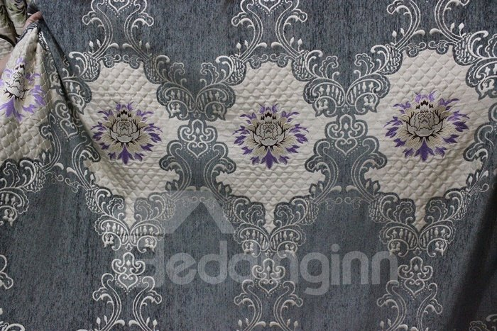 Pretty High Precision Chenille High Shading Degree Polyester Curtain