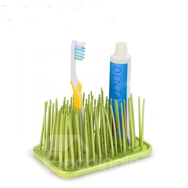 Creative Fashion Grass Gathering Multi Functional Toothbrush Holder