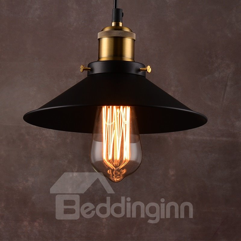 Black Nordic Retro Creative Bar Restaurant Loft Decoration Pendant Lights