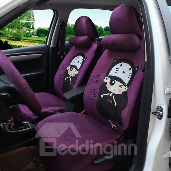 Easy Installation and Washable Ventilated British Silk Car Seat ...