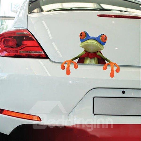 Super Frog Car Truck Sticker