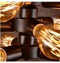 Retro Creative Decorative Coffee Bar 9-Head Waterpipe Pendant Lights