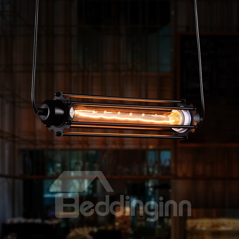 Retro Creative Decorative Coffee Bar Edison Flute Pendant Lights