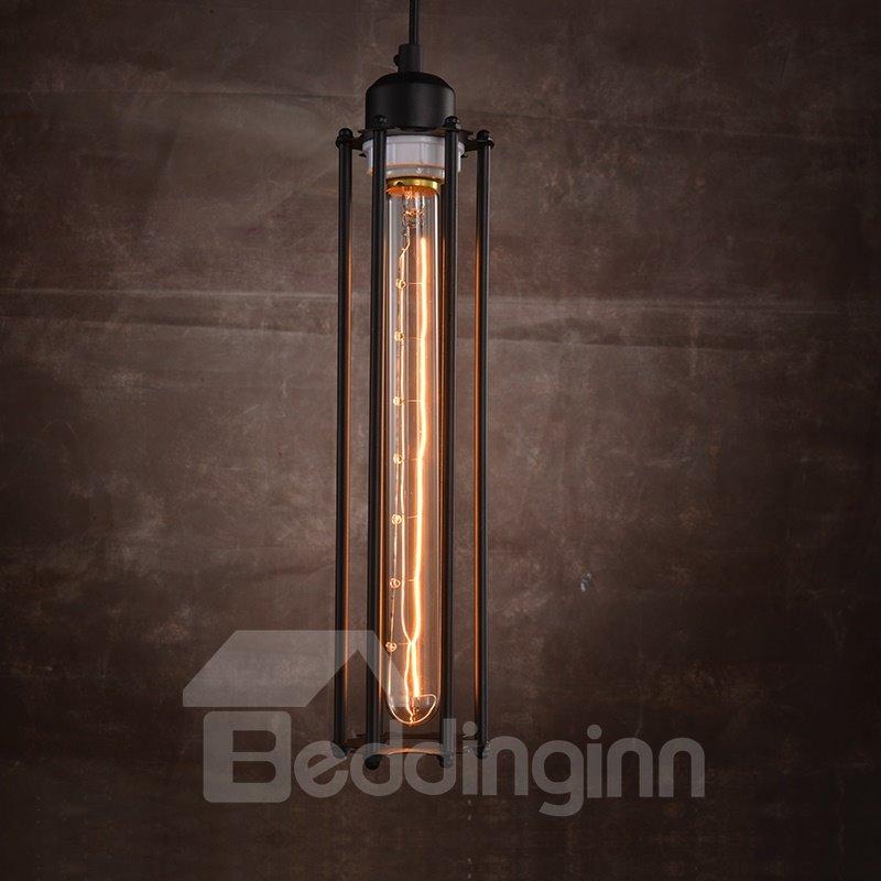 Retro Creative Coffee Bar Edison Flute Pendant Lights