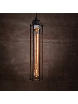 Retro Creative Coffee Bar Edison Flute Pendant Lights