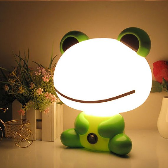 rooms digsdigs kids a lamps lights room table forest lamp fox creative for cute led and rustic or nurseries